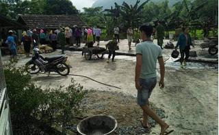 Sau khi đốt nhà, nam thanh niên được phát hiện tử vong dưới ao