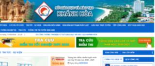 Tra cứu điểm thi THPT quốc gia 2020 tỉnh Khánh Hòa ở đâu nhanh nhất?