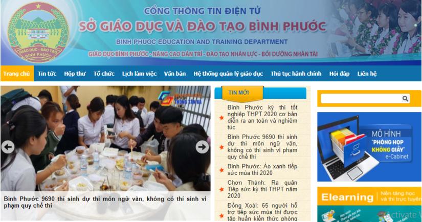 Tra cứu điểm thi THPT quốc gia 2020 tỉnh Bình Phước ở đâu nhanh nhất?