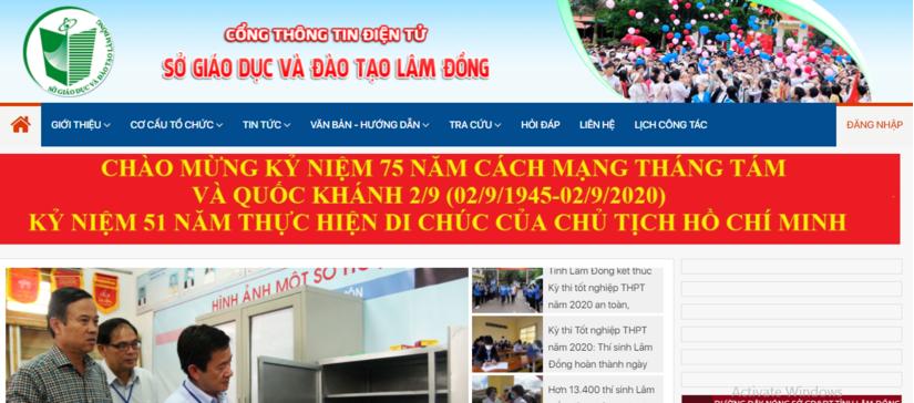 Tra cứu điểm thi THPT quốc gia 2020 tỉnh Lâm Đồng ở đâu nhanh nhất?