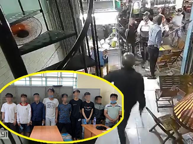Hàng chục thanh, thiếu niên đập phá quán trà sữa ở TP.HCM
