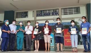 Thêm 5 bệnh nhân Covid-19 ở Đà Nẵng được xuất viện
