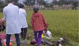 Phát hiện thanh niên tử vong dưới mương nước, cạnh xe máy