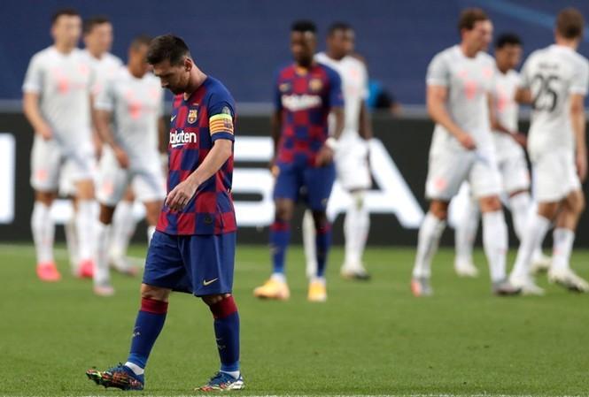 Barca thua đậm Bayern Munich