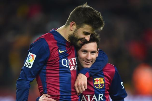 Messi và Pique muốn rời Barca sau trận thua đậm Bayern Munich