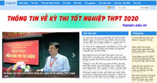 Tra cứu điểm thi THPT quốc gia 2020 tỉnh Hà Nam ở đâu nhanh nhất?