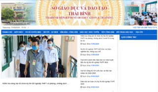 Tra cứu điểm thi THPT quốc gia 2020 tỉnh Thái Bình ở đâu nhanh nhất?
