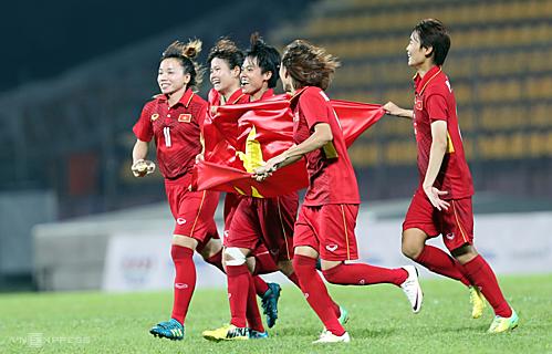 Tuyển nữ Việt Nam bỏ xa Thái Lan trên BXH FIFA