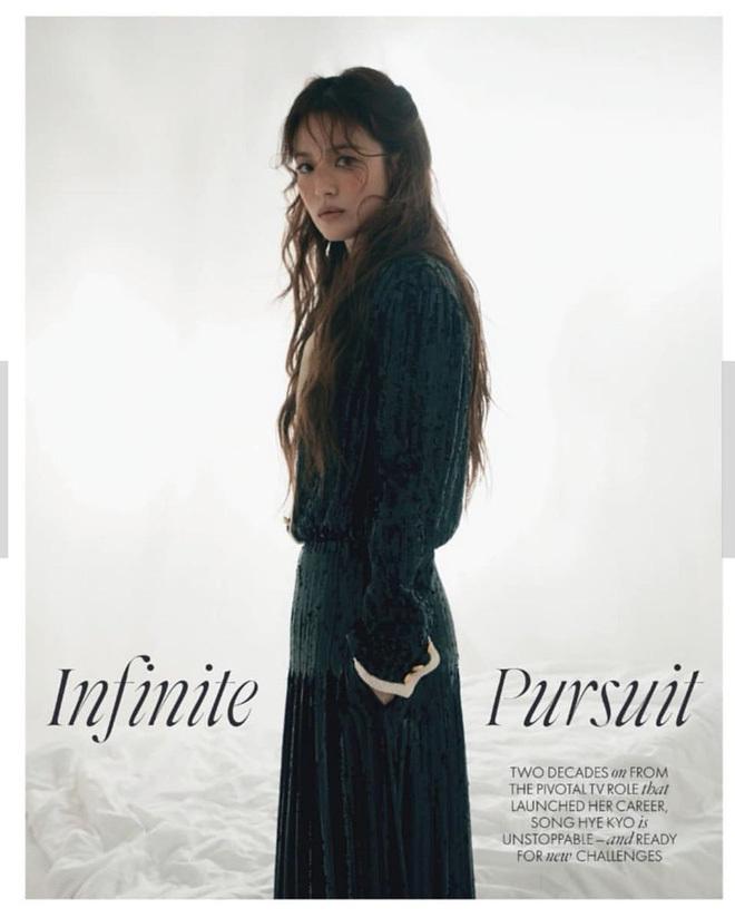 Ngọc Trinh bê nguyên concept chụp ảnh của Song Hye Kyo