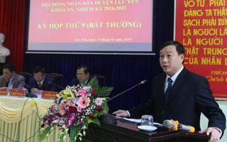 Chủ tịch thành phố Yên Bái đột tử sau 4 tháng nhậm chức