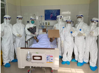 Một bệnh nhân nặng ở Đà Nẵng được điều trị khỏi Covid-19