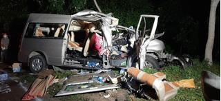 Đã xác định được tài xế xe khách gây tai nạn khiến 8 người chết ở Bình Thuận