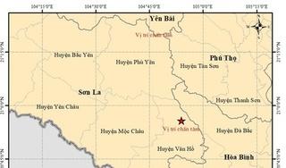 Lại xảy ra động đất tại Sơn La vào sáng nay