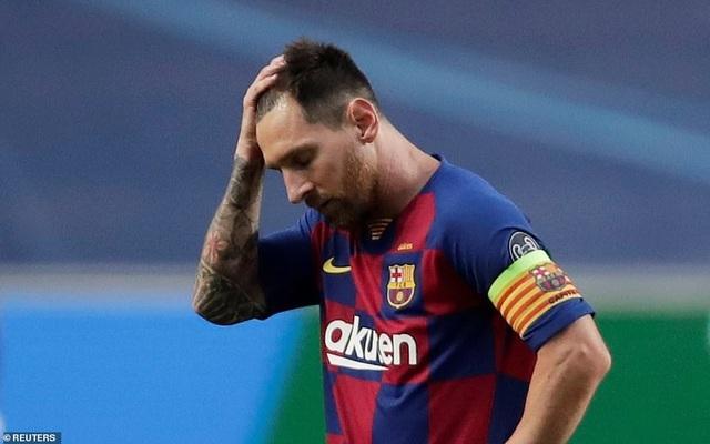CLB Barca tính mua Neymar để thế chỗ Messi