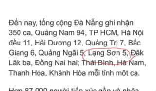 Bác thông tin Lạng Sơn có 5 ca nhiễm Covid-19