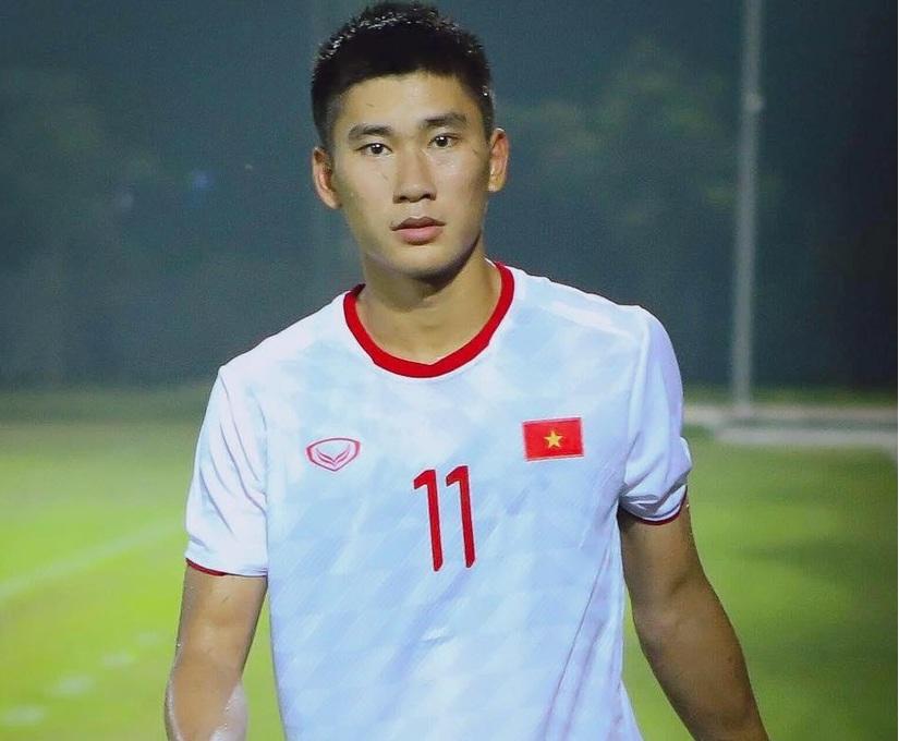 Cầu thủ thay thế Quang Hải trên hàng công U22 Việt Nam
