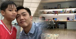 Cường Đô La tiếp tục hé lộ góc riêng của Subeo trong biệt thự triệu đô
