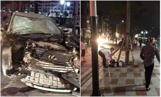 Ai là chủ sở hữu xe Lexus đâm nữ công an phường tử vong ở Hải Phòng?