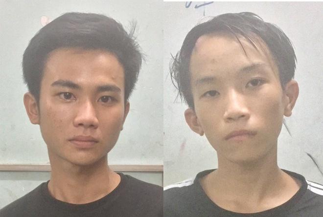 Trường và Lai bị tạm giữ về hành vi Cướp giật tài sản