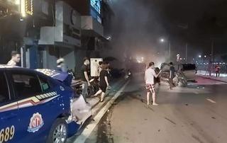 Vụ xe Lexus tông chết nữ công an ở Hải Phòng: Tài xế có nồng độ cồn