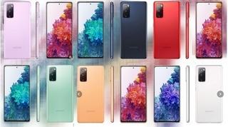 Hé lộ màu sắc rực rỡ của Galaxy S20 Fan Edition