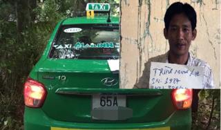 Bắt nóng đối tượng siết cổ cướp tài sản của nữ tài xế taxi