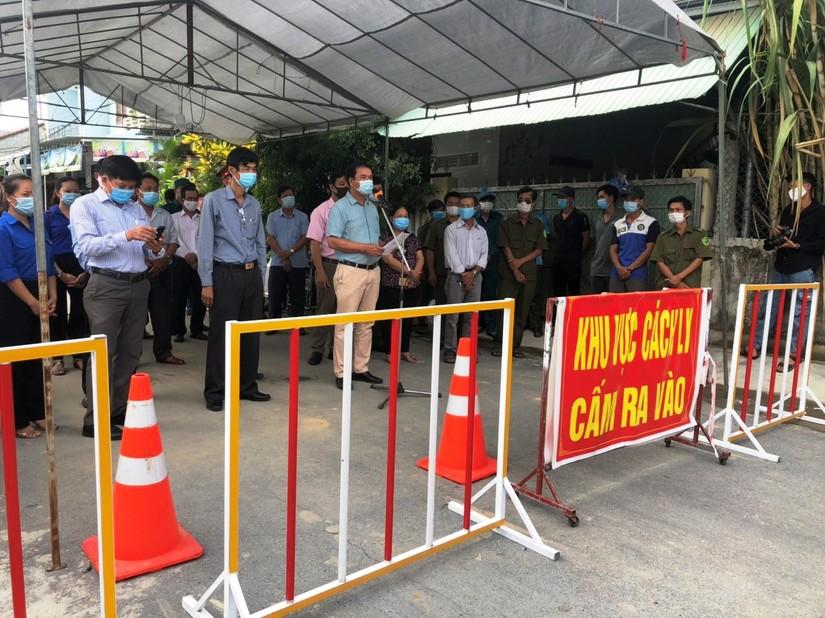 Khu dân cư ở huyện Bình Sơn, Quảng Ngãi chính thức được dỡ bỏ cách ly