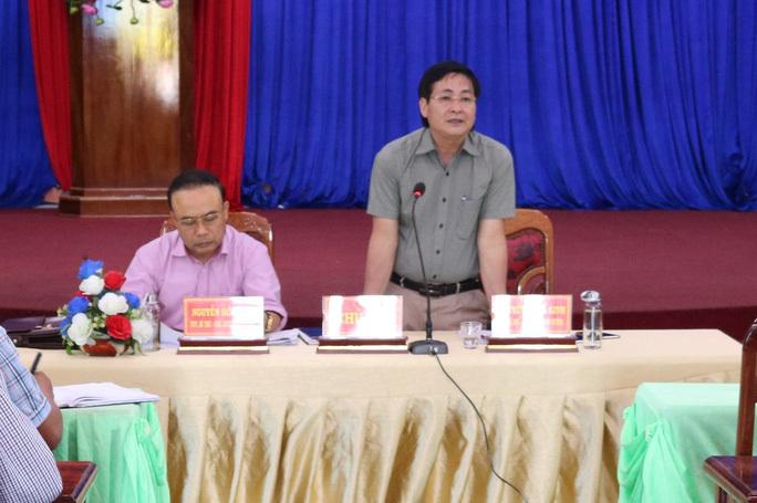 Chậm triển khai chỉ đạo của tỉnh, chủ tịch huyện bị xem xét trách nhiệm