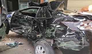 Tin tức tai nạn giao thông ngày 21/8: Ô tô con bẹp rúm khi va chạm với xe tải trên QL37