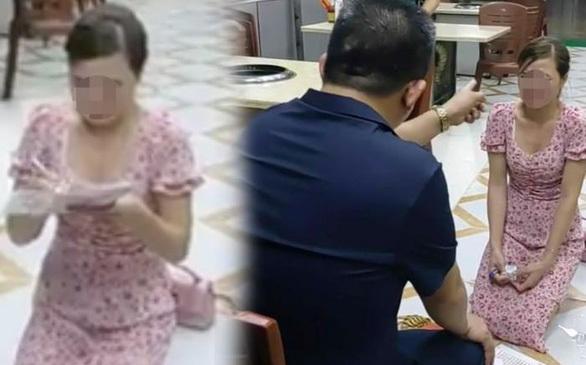 Phạt 30,5 triệu đồng chủ quán Nhắng  nướng bắt khách quỳ gối xin lỗi ở Bắc Ninh