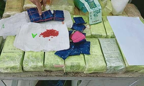 Điện Biên triệt phá 2 đường dây 'khủng', thu giữ 59 bánh heroin, 25kg ma túy tổng hợp