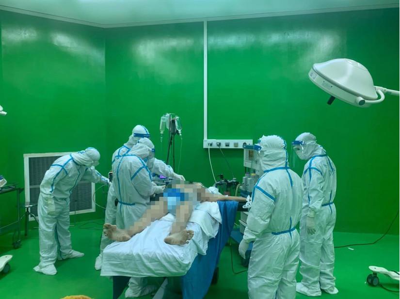 Bệnh nhân Covid-19 ở Đà Nẵng bị xuất huyết tiêu hóa nặng