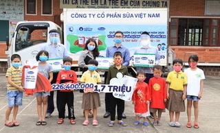 Quỹ sữa vươn cao Việt Nam: Vượt trở ngại Covid-19 để mang 1,7 triệu ly sữa đến trẻ em khó khăn