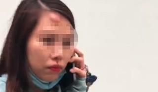 Cô gái bất ngờ bị người đàn ông lạ đánh nhập viện
