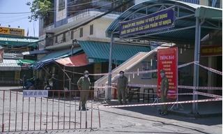 Tìm người tiếp xúc với nhân viên quản lý chợ dương tính với Covid-19 ở Đà Nẵng