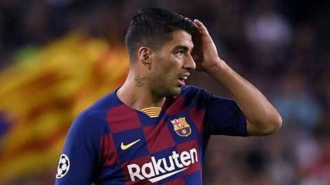 Tiền đạo Luis Suarez chuẩn bị rời Barca