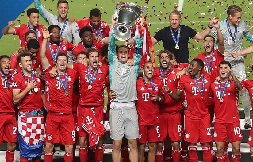 Bayern Munich vô địch Champions League
