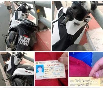 Chưa tìm thấy nam sinh bỏ lại xe SH trên cầu Vĩnh Thịnh rồi mất tích