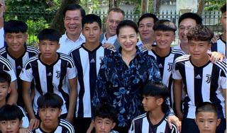 'Học viện Juventus Việt Nam không thiếu tiền đạo giỏi'