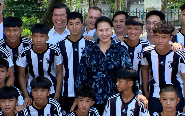 Học viện Juventus Việt Nam không thiếu tiền đạo giỏi