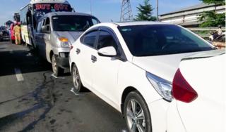 Tin tức tai nạn giao thông ngày 24/8: Tai nạn liên hoàn giữa 5 xe ô tô