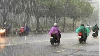 Từ 25/8, mưa dông xu hướng gia tăng ở miền Bắc
