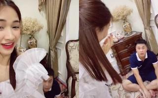 Hòa Minzy bị chỉ trích khi quay clip giả 'xì hơi' troll bạn trai