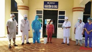 Thêm một bệnh nhân Covid-19 ở Quảng Ngãi được công bố khỏi bệnh