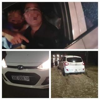 Đã xác định được tài xế ô tô đâm gãy chân cô gái, xưng công an rồi bỏ chạy
