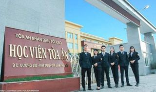 Gần 20 thí sinh đầu tiên được tuyển thẳng vào Học viện Tòa án năm 2020