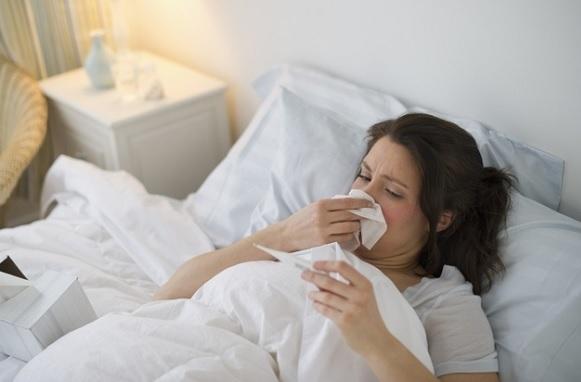 mẹ bầu bị sốt