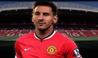 Manchester United tìm cách tiếp cận tiền đạo Messi