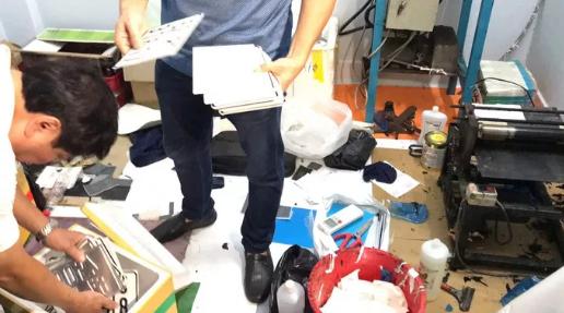 Đường dây 'khủng' làm giả giấy tờ, tài liệu con dấu ở Đồng Nai