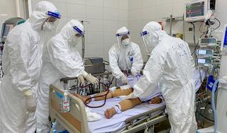 Bệnh nhân 416 phổi đông đặc, nặng hơn bệnh nhân phi công người Anh